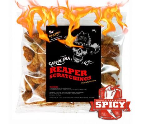 Carolina Reaper Chilli Pork Scratchings 80g