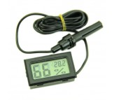 Digital LCD Display Thermometer Hygrometer Temperature Humidity Meter